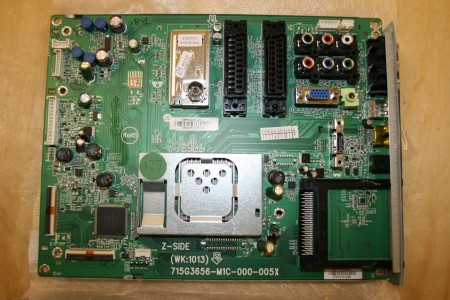 PHILIPS - 715G3656-M1C-000-005X, 32PFL3605H/12, 32PFL3605H12, 715G3656M1C000005X, MAIN PCB