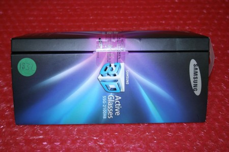 SAMSUNG - 3D GLASSES - SSG-2100AB/XC, SSG-2100AB, SSG2100ABXC, SSG2100AB