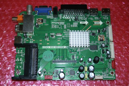 BUSH - MAIN PCB - T.MSD306.69A, 12023 BUS-50/211G-GB-5B-FTCU-UK, 50/211F, 50211F, TMSD30669A12023, BUS50211GGB5BFTCUUK