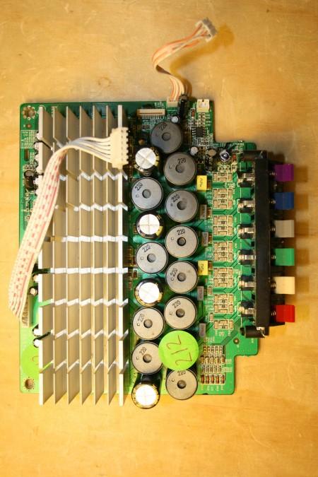 PHILIPS - 9965 100 37447, 996510037447, HTS3540, 40-TS3540-AME2G, 70E25307A, AMP PCB