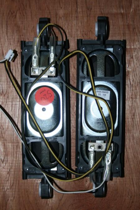 Samsung - Speakers - BN96-09463C (BN96-09463A, BN98-01731A, BN98-01738A) LE46B551A6WQXU
