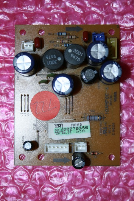 Acoustic - 20270356, 18AMP06-4, 18AMP064, LCD32NK750HD, audio output PCB