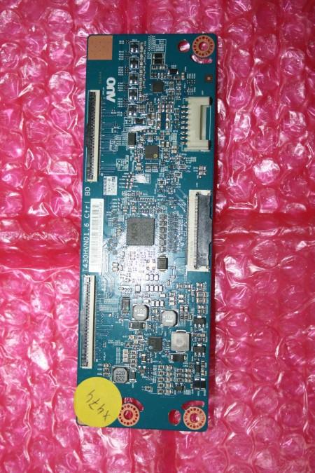 SAMSUNG - VVABBGCI02HXU, T430HVN01.6, UZ-5543T01C07, GJ043BGA-B1, UE43J5500AKXXU - T-CON